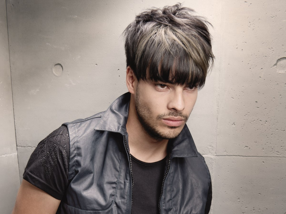 HD wallpapers male hairstyle with fringe