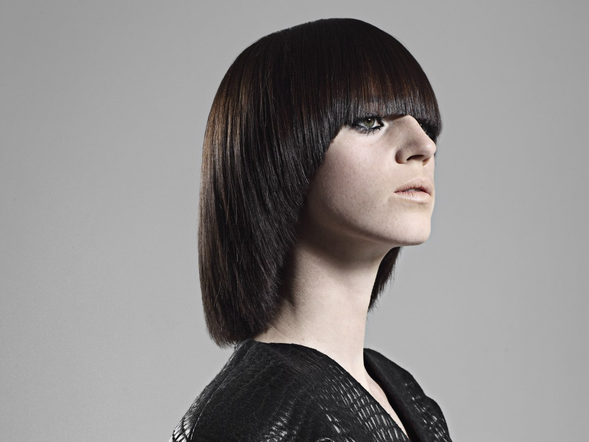 Shorthairstyle2013 Net Layered Bob | Short Hairstyle 2013