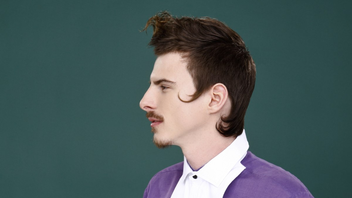 18th Century Inspired Mens Haircut And Mustache