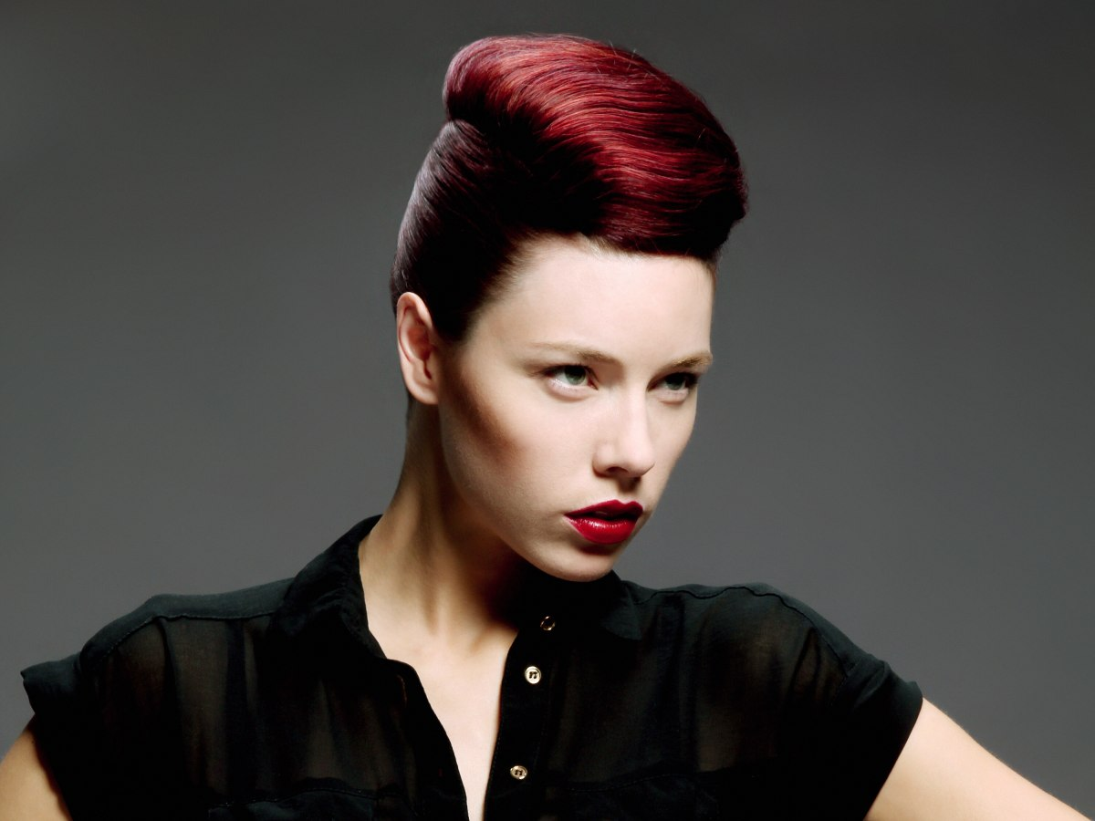 grace jones haircut grace jones hairstyles retro updo inspired by 50s fashion 4907