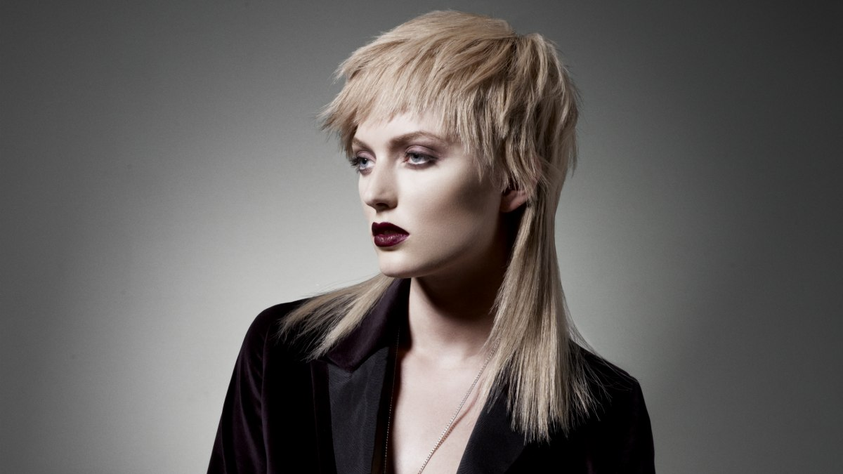 Punk Inspired Hairstyle With A Contrast Of Lengths