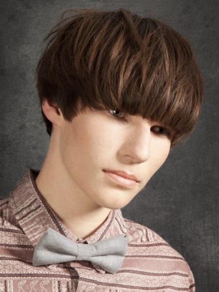 Bowl haircut men