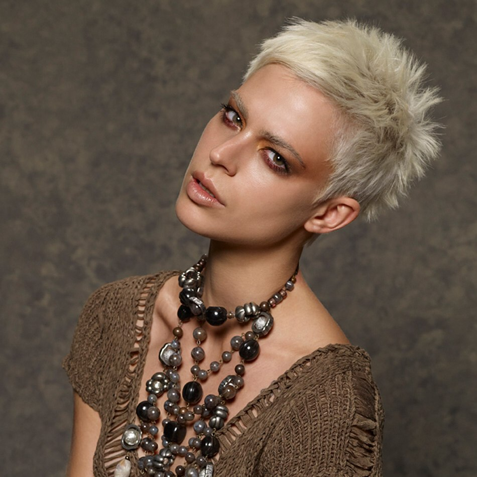 Pleasing Short Crop Very Short Haircut With Roughness In The Texture Hairstyle Inspiration Daily Dogsangcom