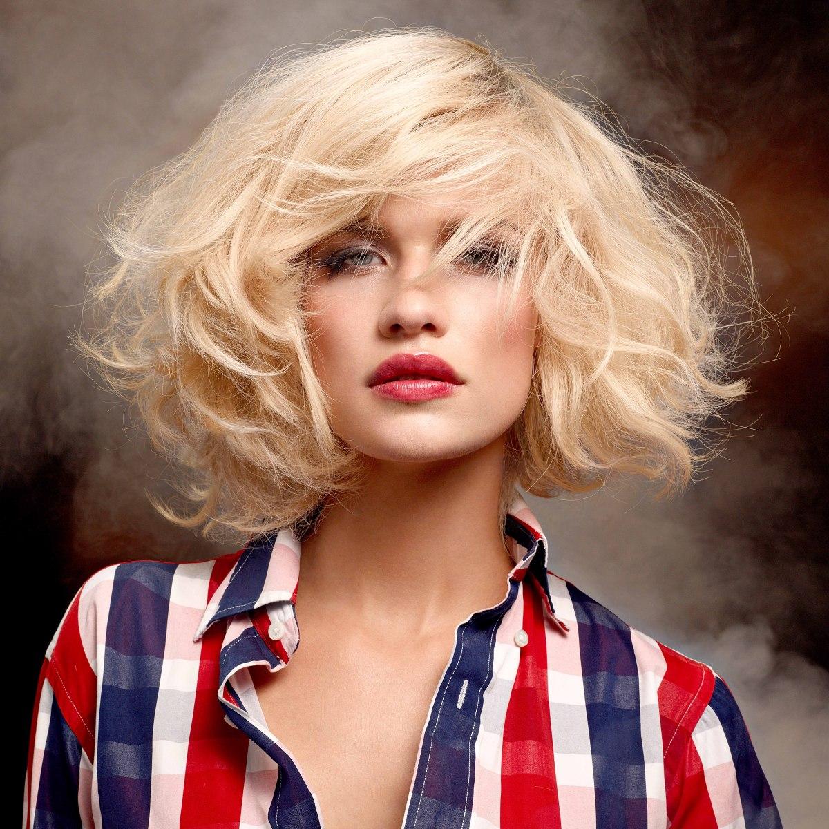 Medium Long Layered And Ultra Feminine Haircut