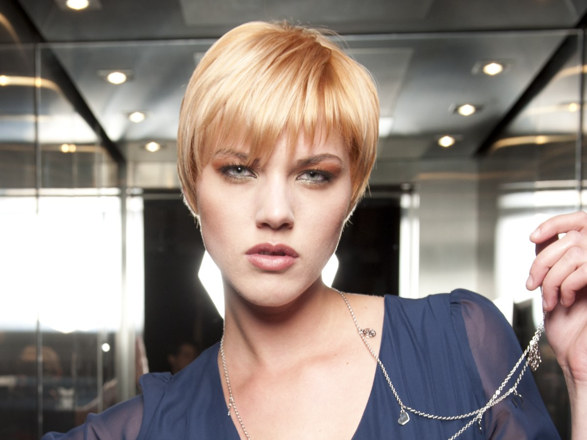 Wash And Wear Hair Cuts Thick Hair | HAIRSTYLE GALLERY
