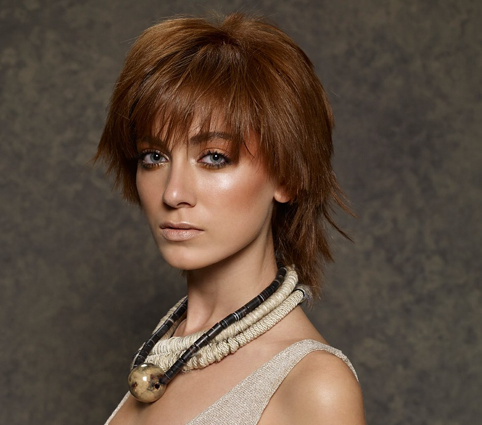 easy to style at home medium length haircut  layered with