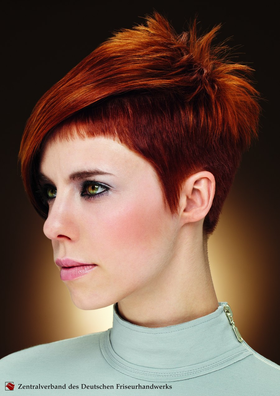 zv short haircuts women