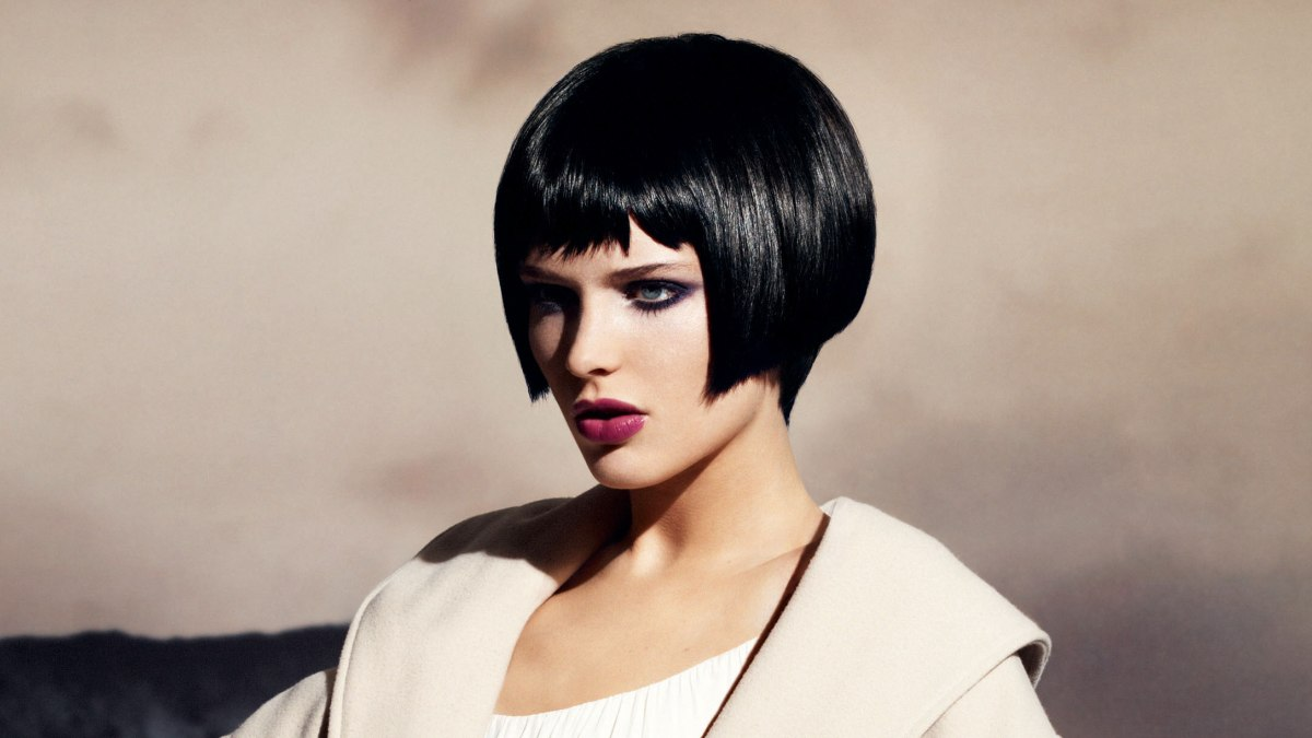 Pin Bob With Fringe Short Haircut Women Hairstyles Chin Length Layered ...