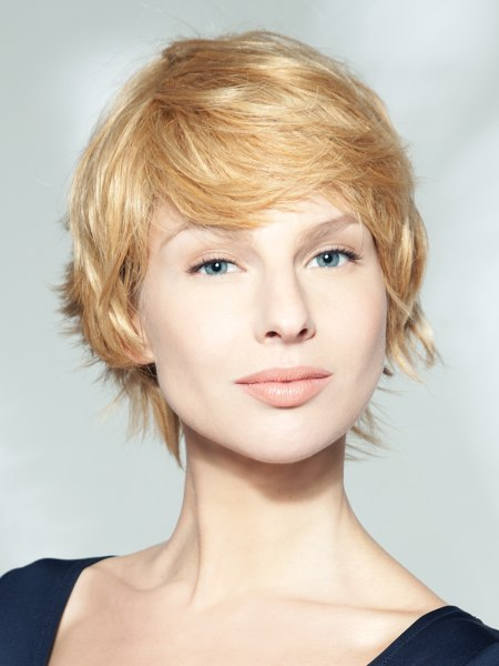 No fuss and easy to maintain bob hairstyle with layers