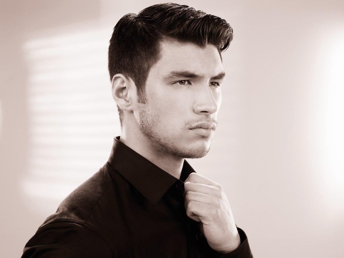 Incredible Fashion Haircut For Men Short Sides And A Barrel Shaped Quiff Short Hairstyles Gunalazisus