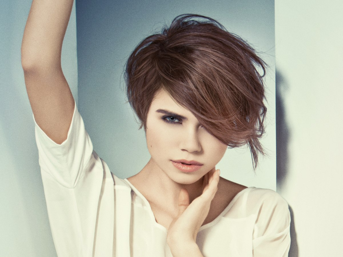 long and short hairstyles with a high end feel