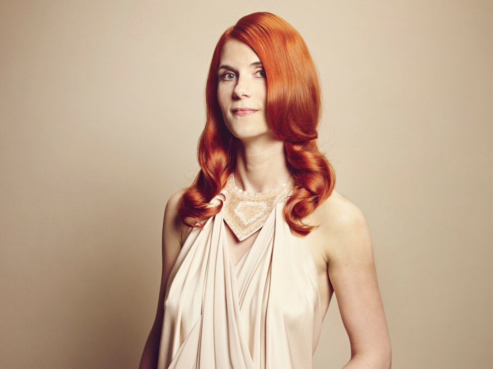 Long Copper Hair That Makes A Fair Skin More Radiant