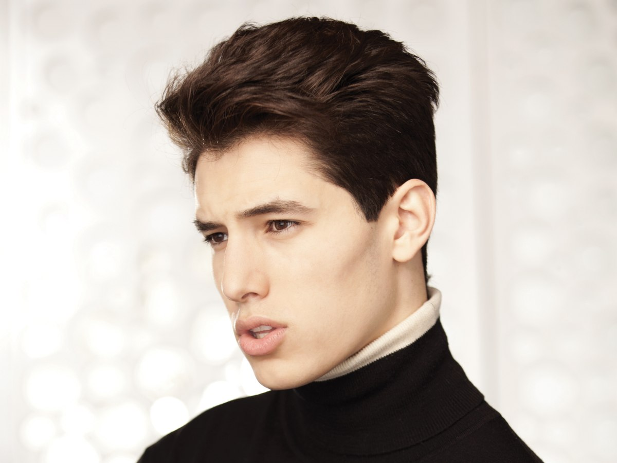 Swell Masculine Hairstyle With Volume Neat Sides And A Longer Crown Short Hairstyles Gunalazisus