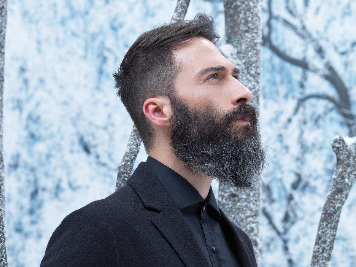 Astounding Rugged Men39S Look With A Natural And Long Full Beard Short Hairstyles Gunalazisus