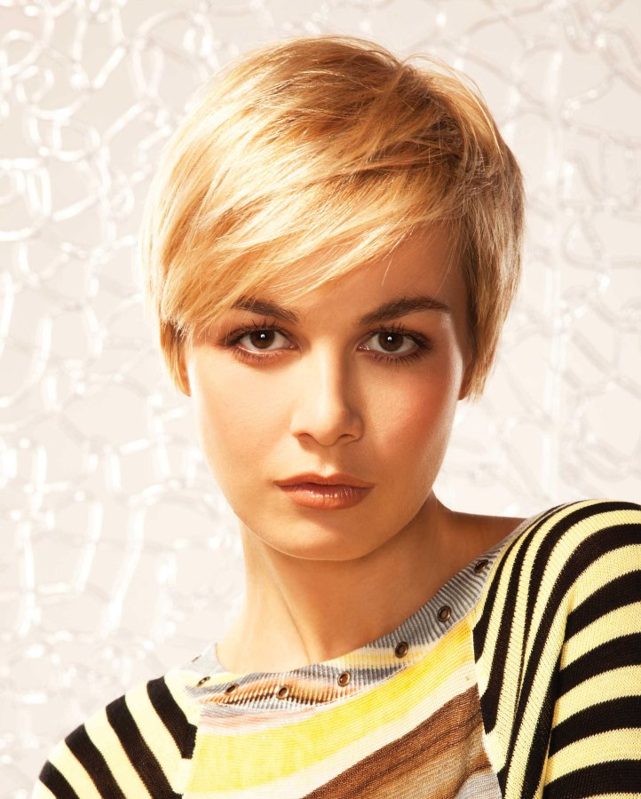Short Hairstyles: Practical And Manageable Short Hair Cut
