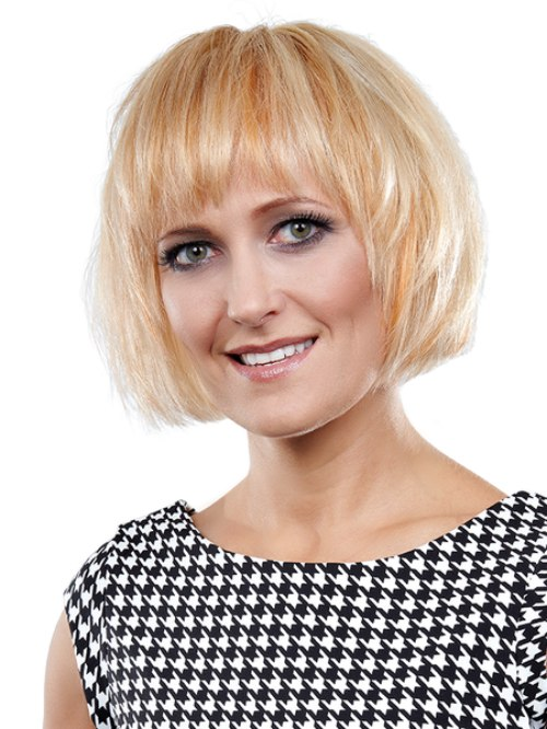 Modern And Flattering Chin Length Bob With Layers For Volume