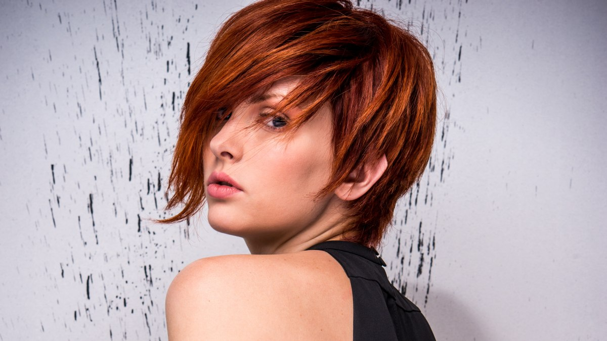 HD wallpapers hairstyle one side shorter than the other