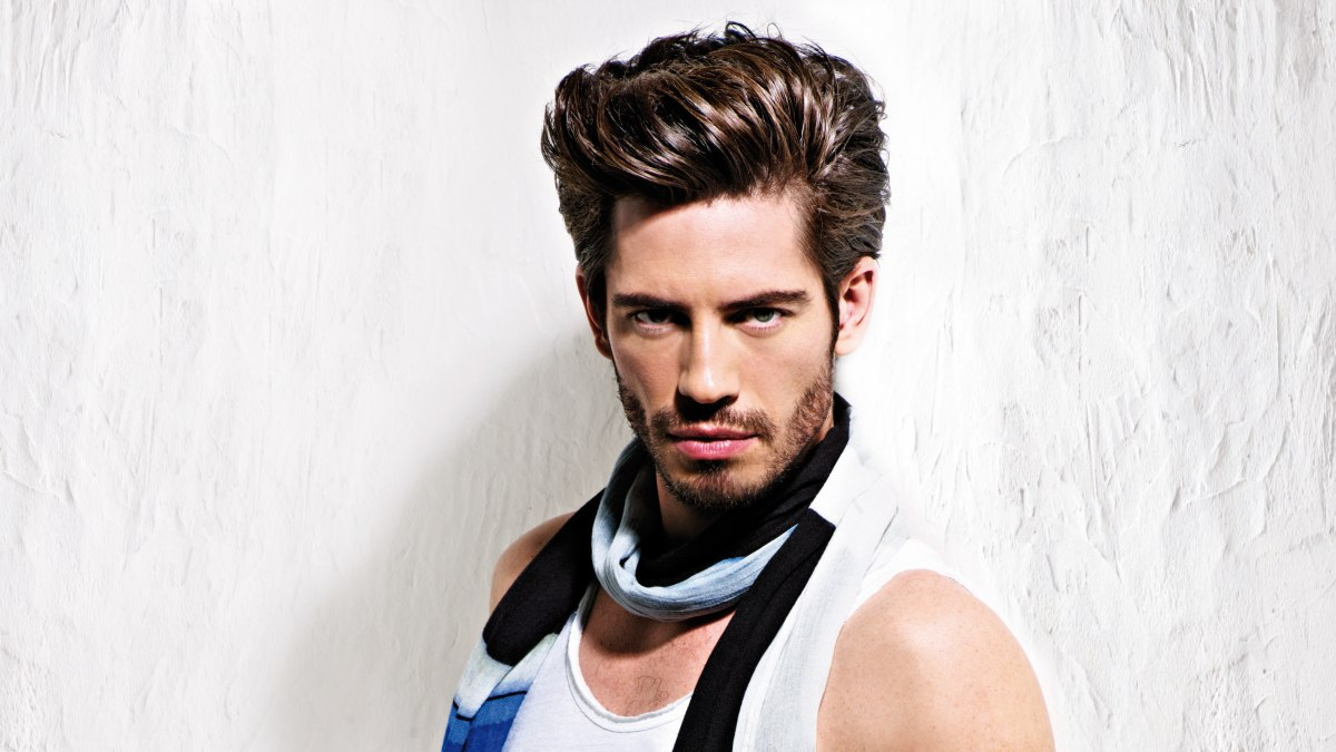 Men S Hair With High Volume Styling