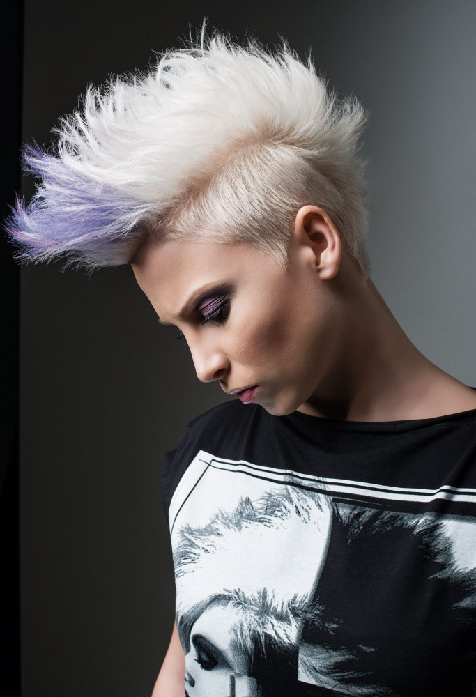 mohawk hair in the front top 30 mohawk fade hairstyles
