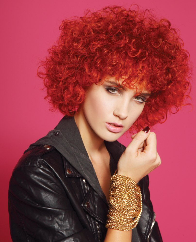 Awesome Short Red Afro Hairstyles Short Get Free Printable Hairstyle Hairstyle Inspiration Daily Dogsangcom