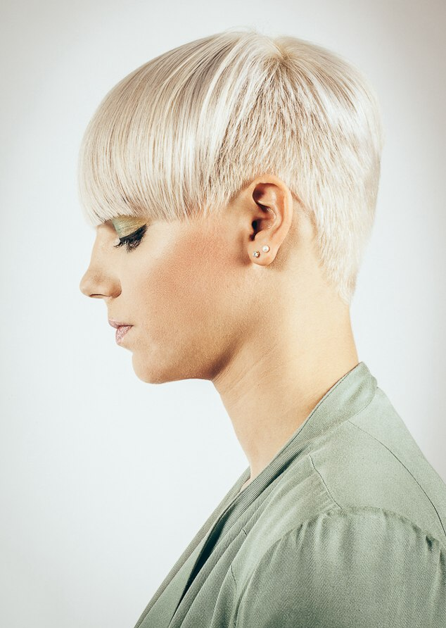 Wondrous Hairstyle With Very Short Sides And Back And A Wide Long Fringe Short Hairstyles For Black Women Fulllsitofus