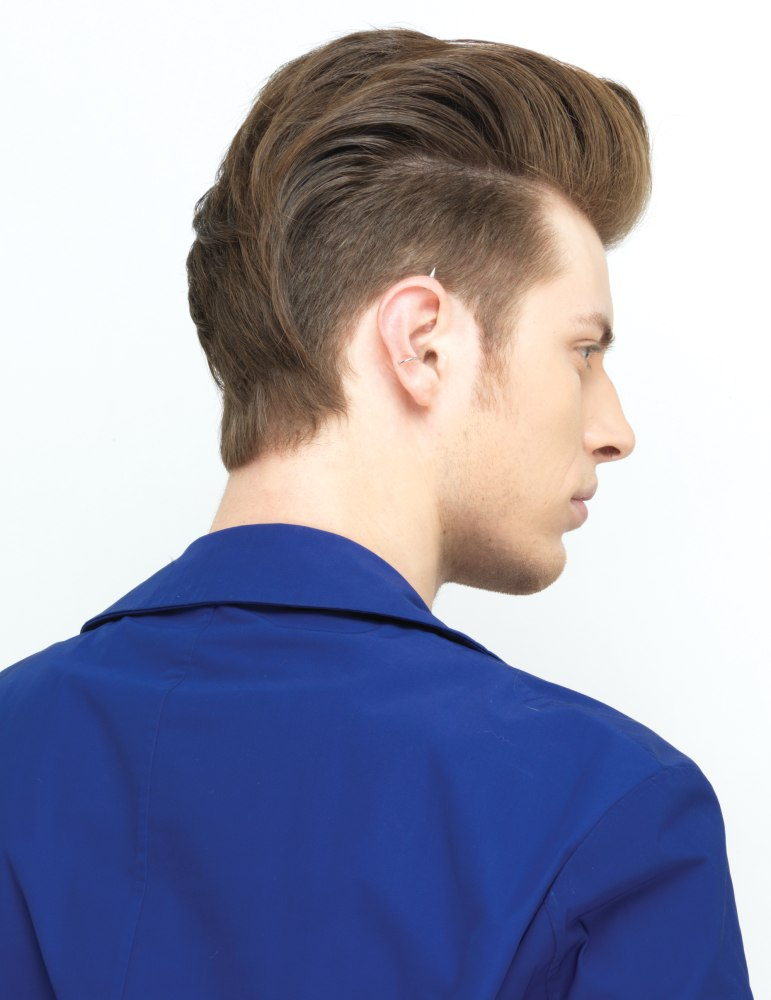Stylish Undercut Hair For Men