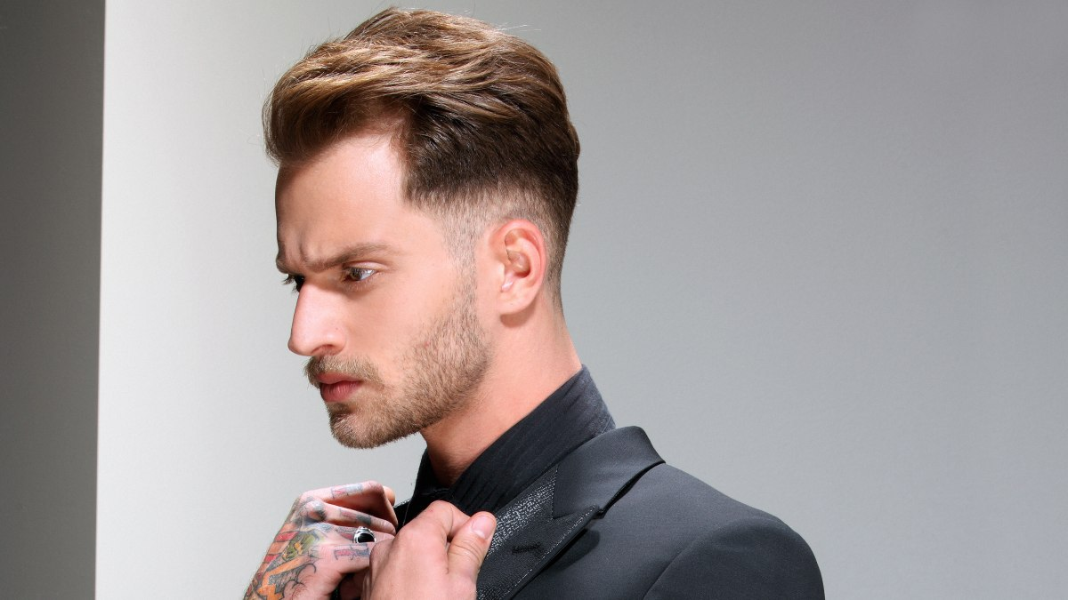 Short hairstyle for men indian