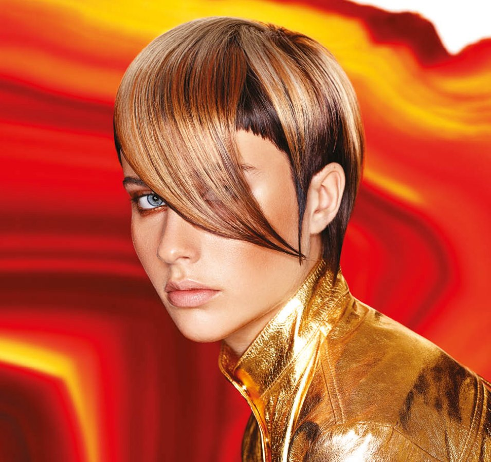 scifi hairstyles short haircut with sharp edges and long