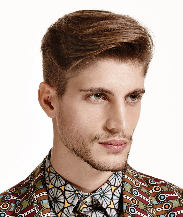 Short Men S Hair With A Smooth Flow