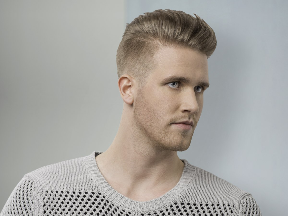 Mens Hair That Is Short Enough To See The Skin Through