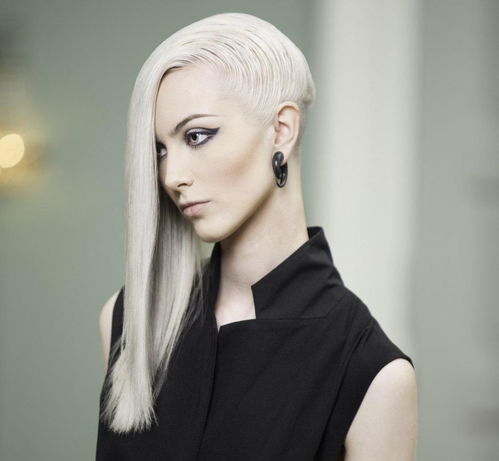 Eccentric Long Hair With An Undercut