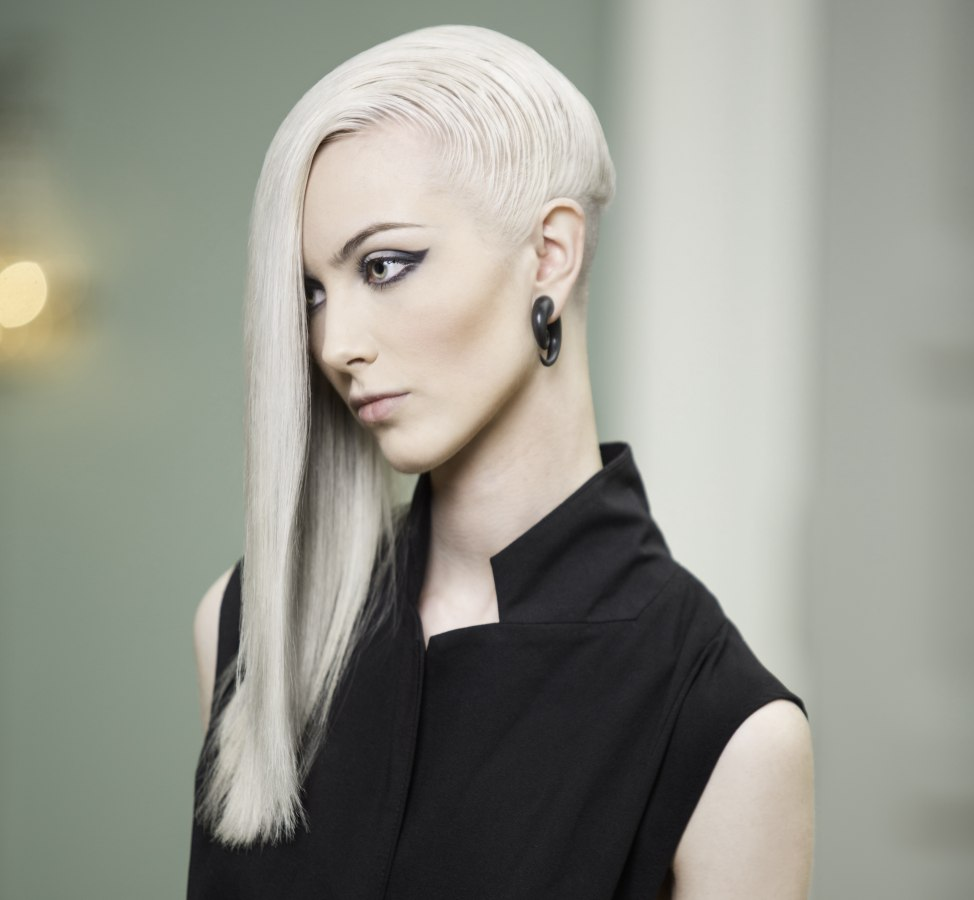 Eccentric long hair with an undercut long hair with an undercut urmus Image collections