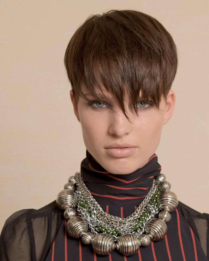 Styling Tips For Short Hair With Bangs