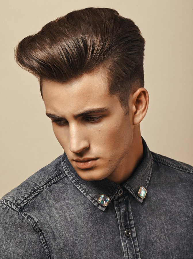 Neat Short Back And Sides Hairstyle For Men