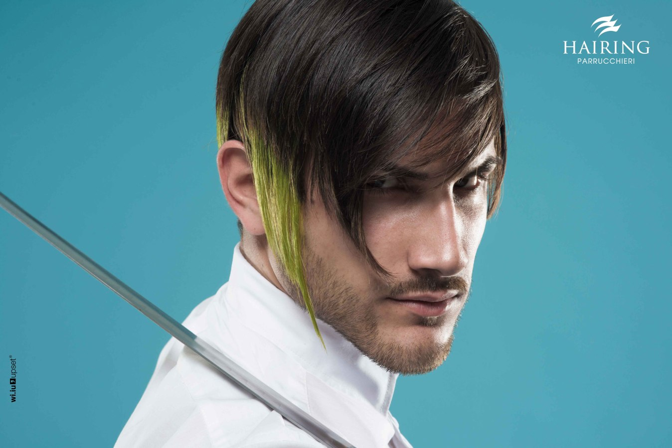 extravagant hairstyle for men