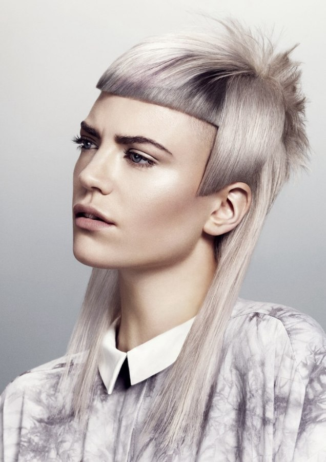 London fashion and hairstyles