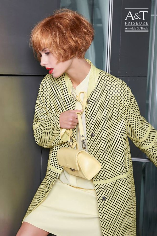 1980s Style Short Bob With Bangs