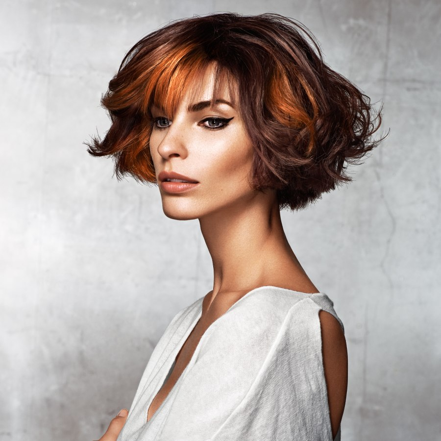 g hair styles and youthful layered bob for a feminine look 5580