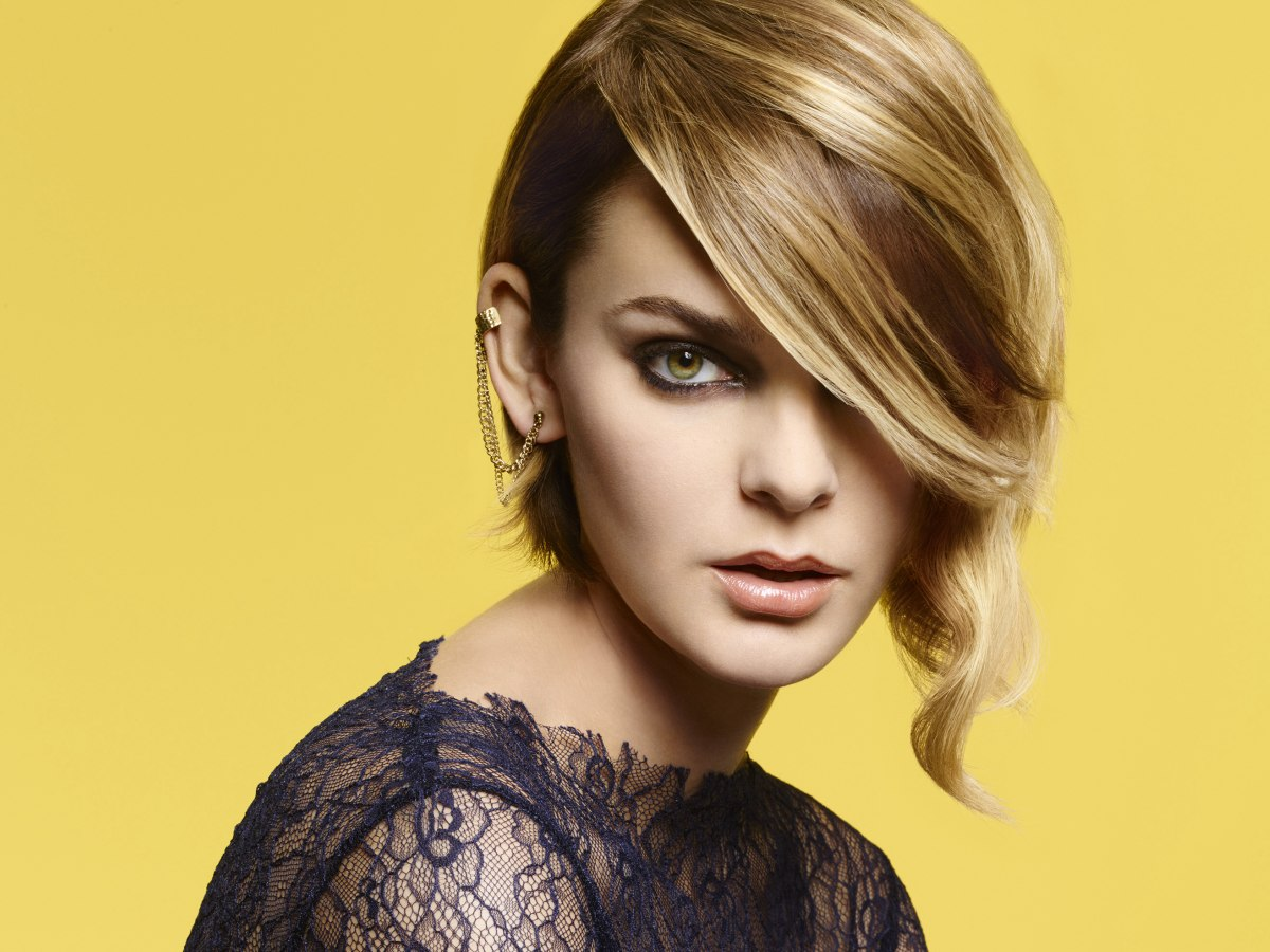 Hair Styles That Are In: Layered Bob With Long Diagonal Bangs