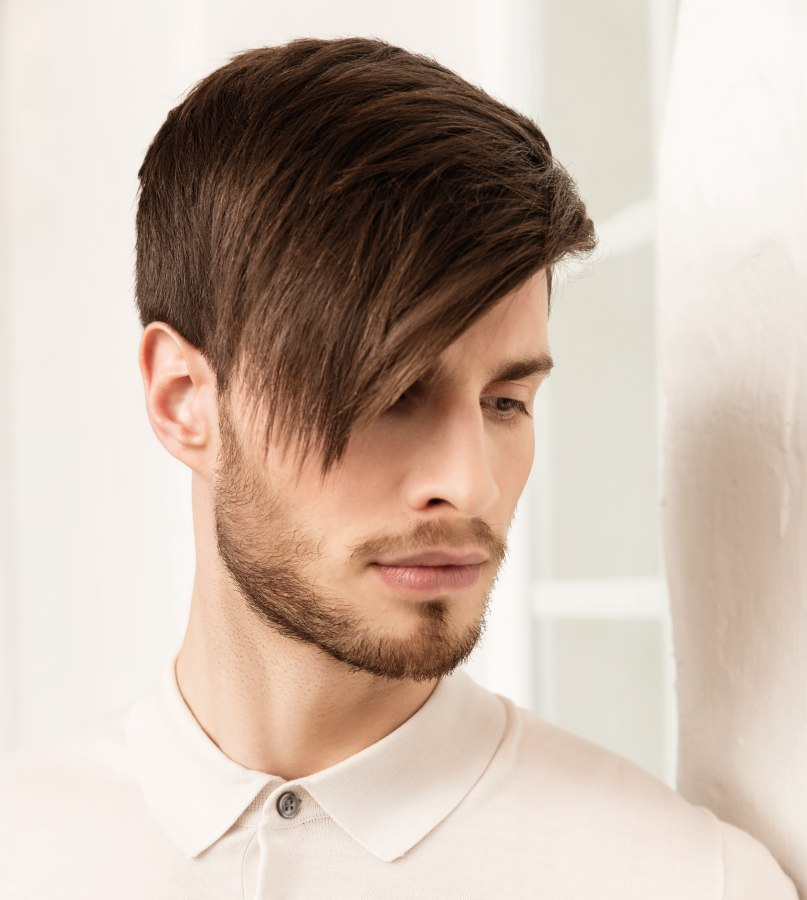 Mens Short Back And Sides Hairstyle With A Modern Feel