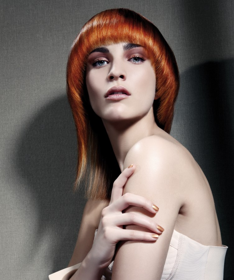 Transitional Lines In Haircuts Transitional Hair Trend 2017