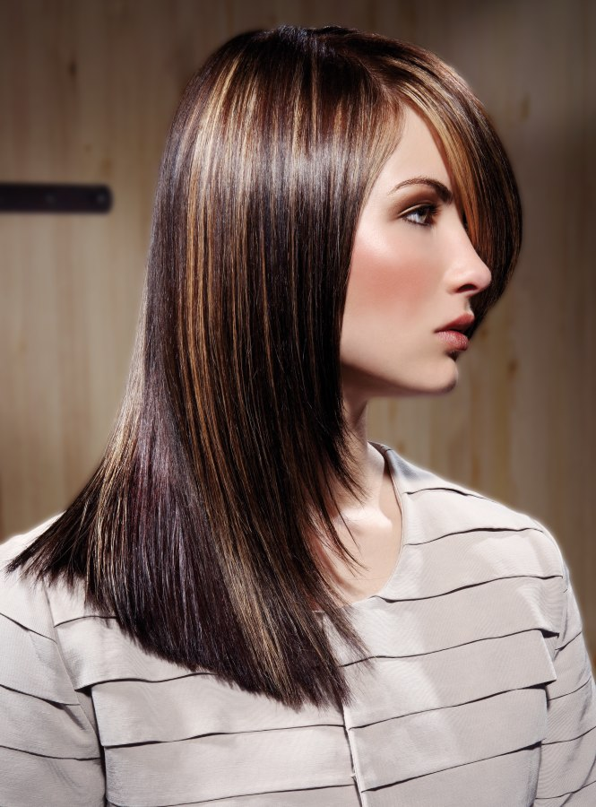 The Long Hair Is Tapered Over A Fun Layered Base That Adds Much ...