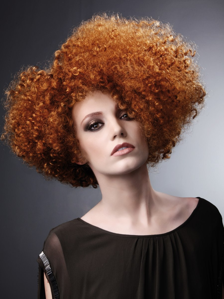 How To Color Natural Curly Hair