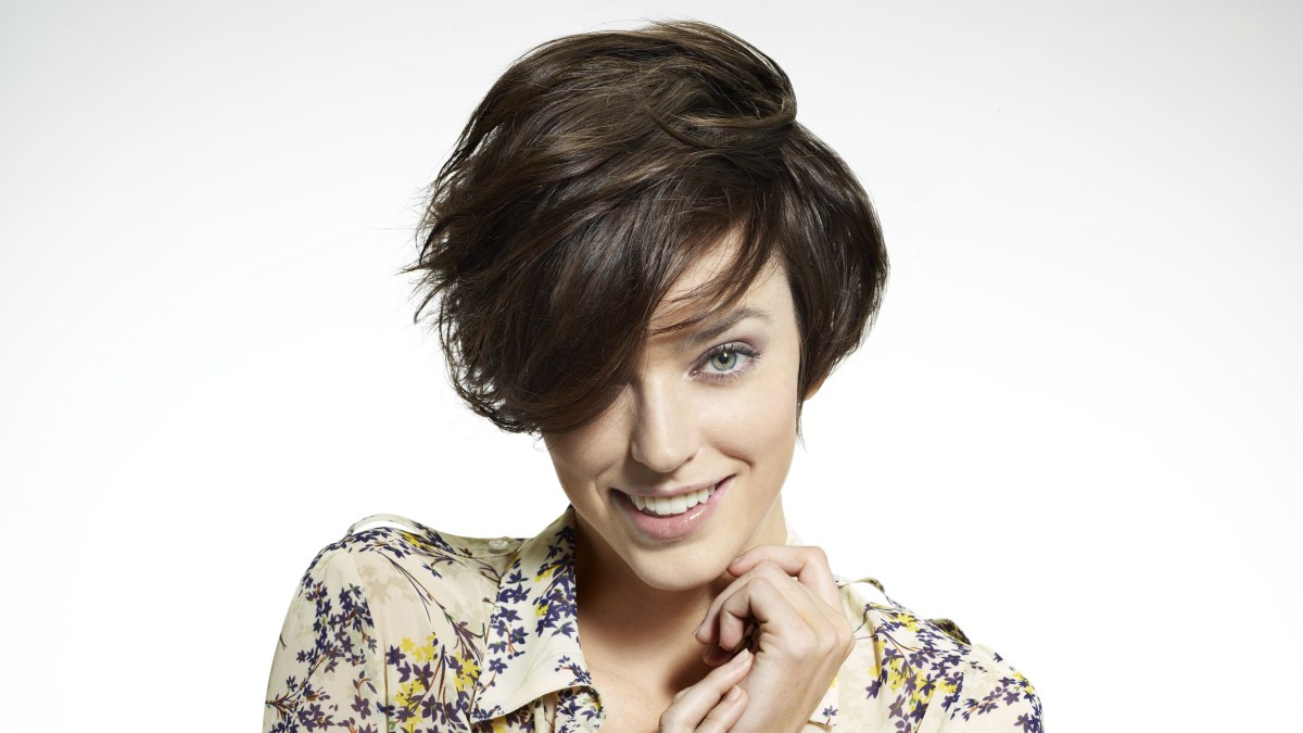 Cool Short Layered Bob Haircut With Easy Styling Hairstyles For Men Maxibearus