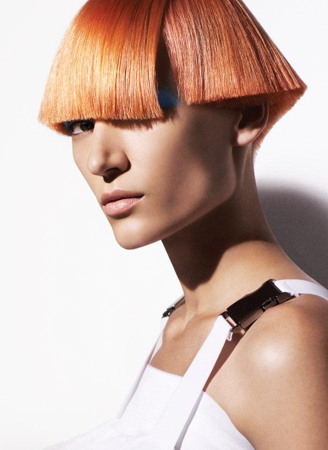 mushroom hair style
