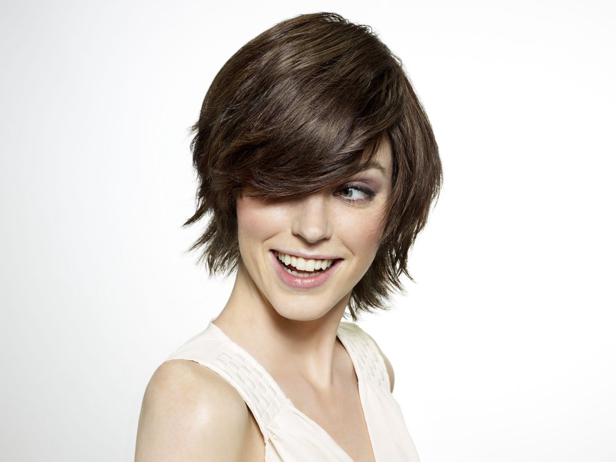 wash and wear short hair styles