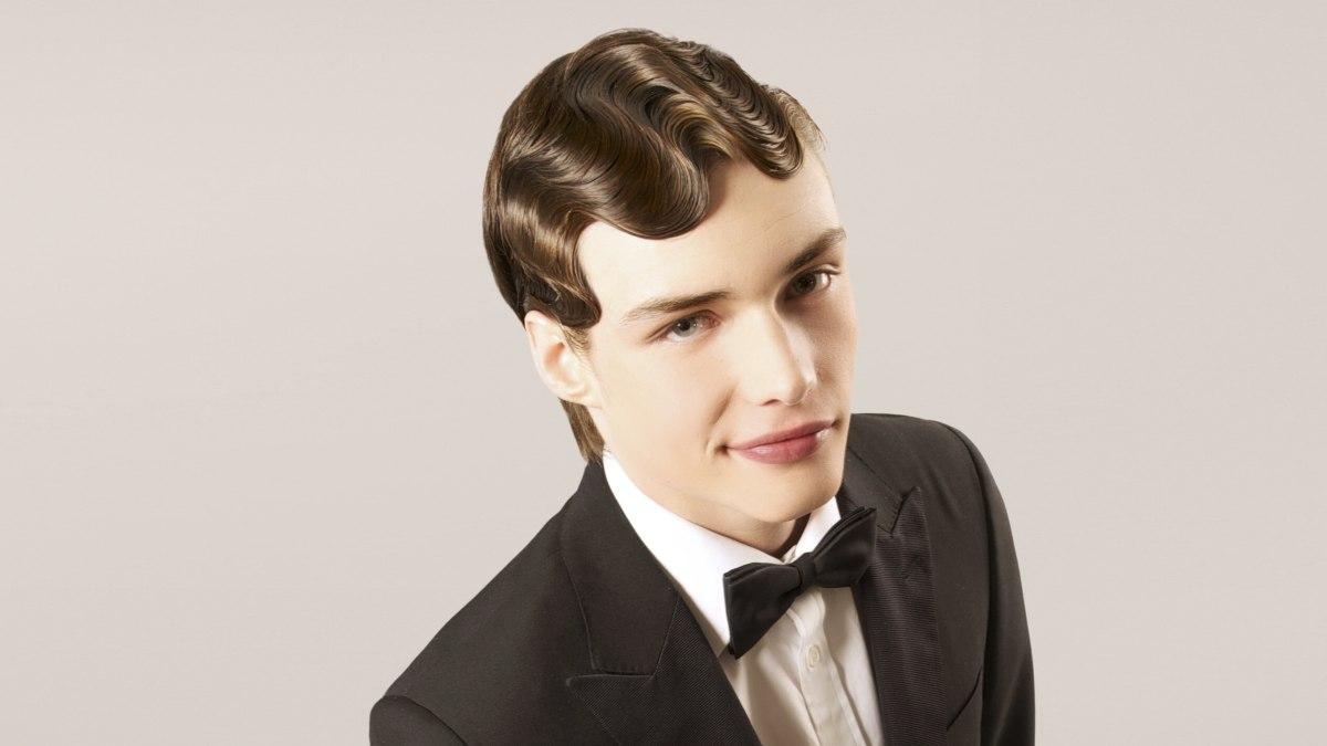 Swell Vintage Men39S Haircut With Finger Waves Short Hairstyles For Black Women Fulllsitofus