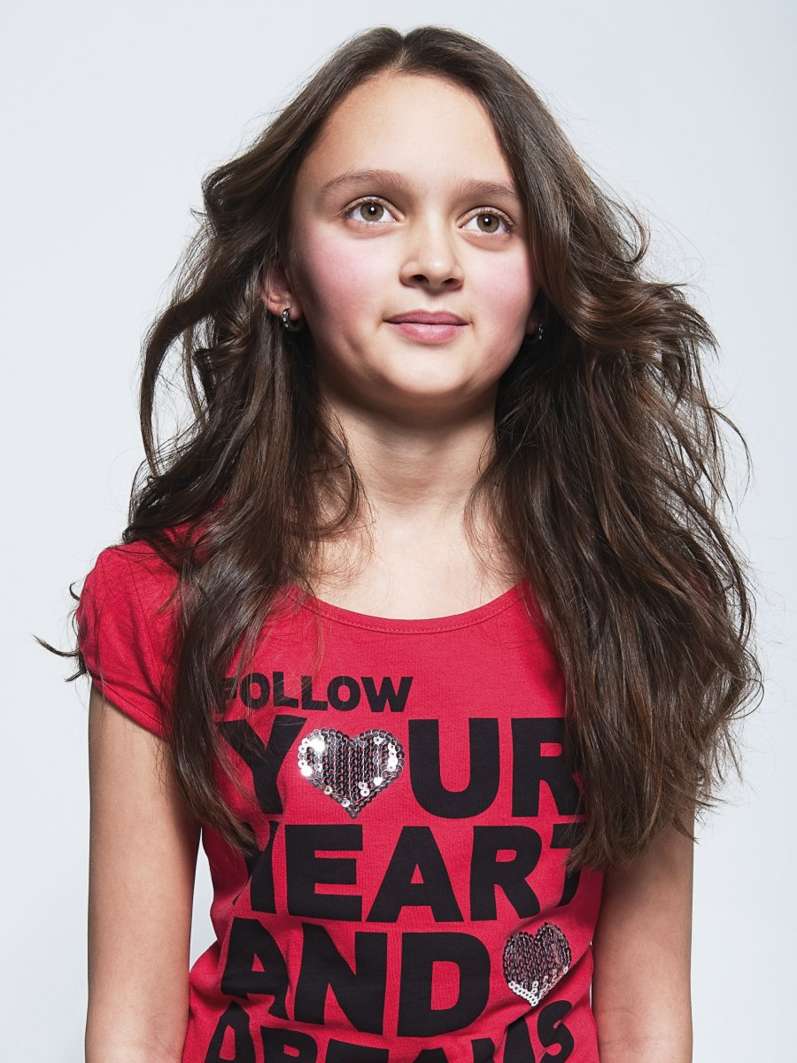 Long Hairstyle For A Teenage Girl
