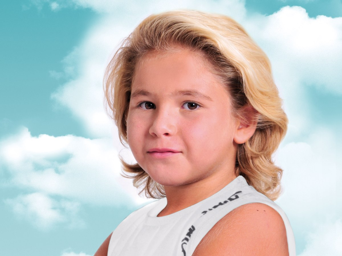 Surfer Look For Little Boys With Hair That Is On The Longer Side