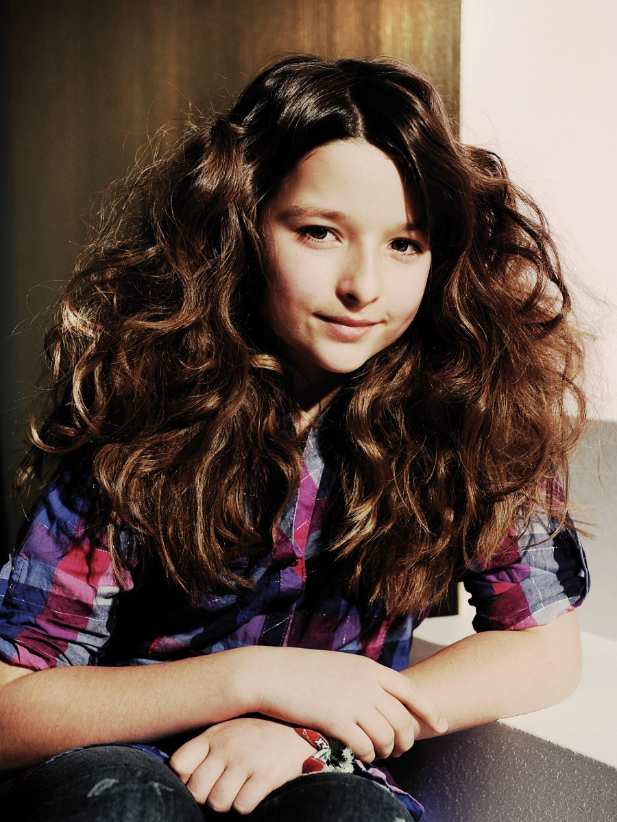 Magnificent Long Haircut For A Girl With Thick Hair And Curls Hairstyles For Women Draintrainus